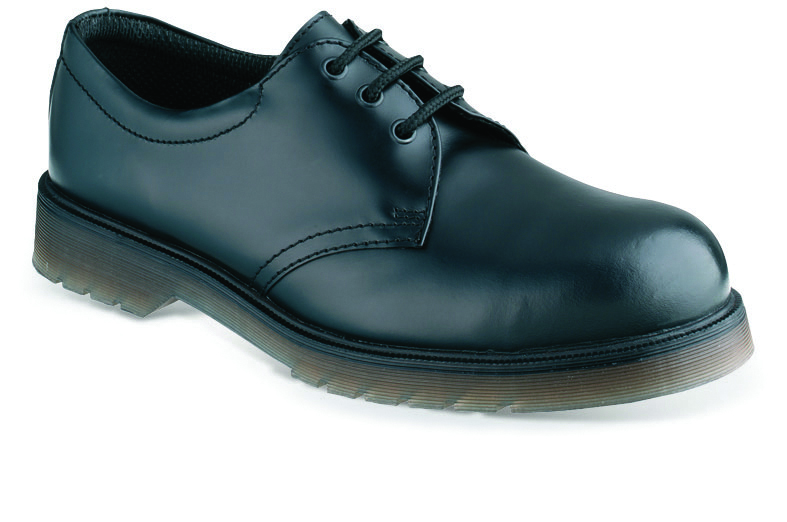 daf04d8fb0a City Knights SS100 Black Leather Shoe